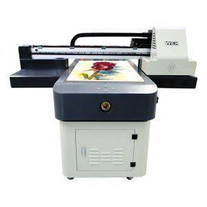 горещ продажба a1 / a2 / a3 / a4 малък формат цифров uv плосък принтер 6090