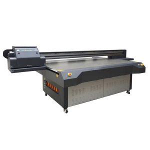 UV плосък мастилено-струен принтер WER-ET2513UV печатаща глава с висока скорост