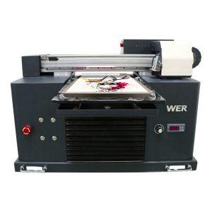 a4 dtg плосък памучен плат принтер тениска печат машина