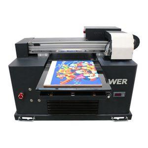евтина цена a4 размер UV LED плосък принтер за всеки материал