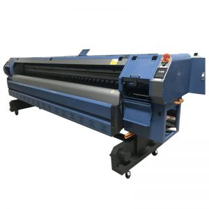 високоскоростен 3.2m принтер за разтворители, цифрова машина за печатане на банери K3204I
